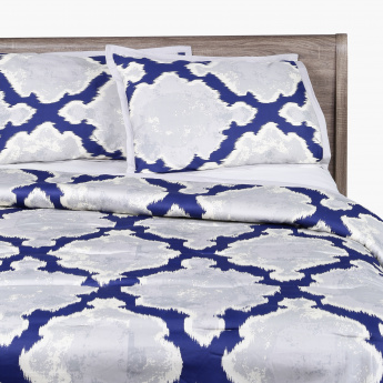 Ealena Printed King 3-Piece Comforter Set