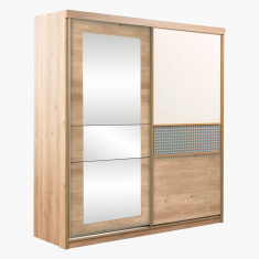 Morocco Sliding Door Wardrobe with Mirror