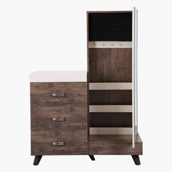 Solis 3-Drawer Dresser with Mirror