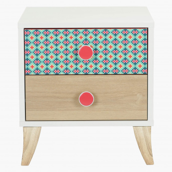Morocco 2-Drawer Night Stand