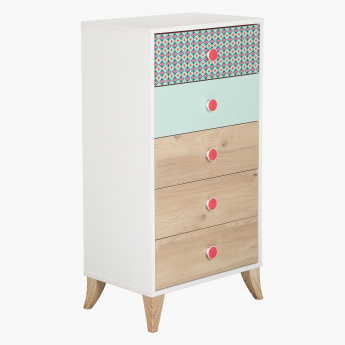 Morocco 5-Drawer Chest of Drawers