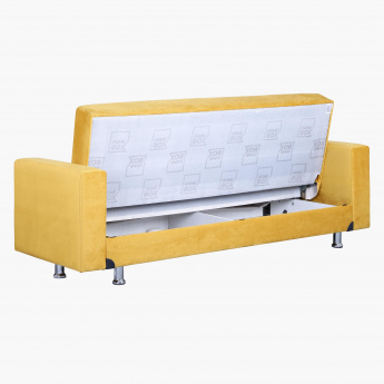Zeus Sofa Bed with Storage and 2 Cushions