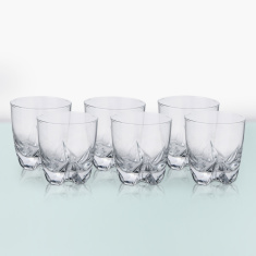 Pearl Lisbonne Old Fashion Tumbler 6 Piece Set -300 ml