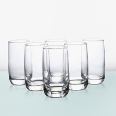Pearl Vigne Highball Tumbler 6 Piece Set -330 ml