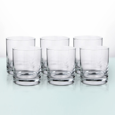Pearl Islande Old Fashion Tumbler 6 Piece Set - 300 ml