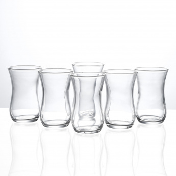 Clear Estakan Cup 6 Piece Set - 120 ml