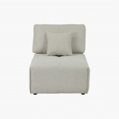 Oslo Armless Upholstered Chair