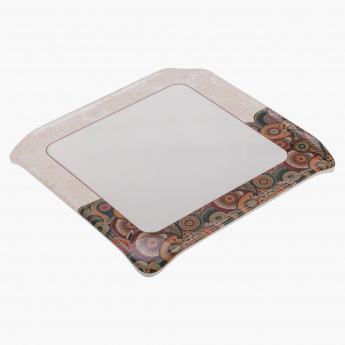 Tribal Paisley Square Trivet