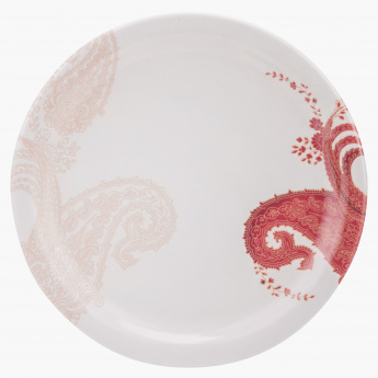 Exotic Paisley Round Side Plate