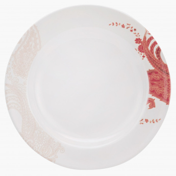 Exotic Paisley Round Soup Plate