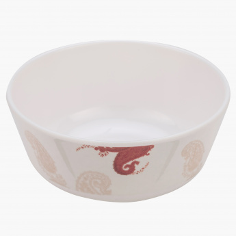 Exotic Paisley Round Soup Bowl