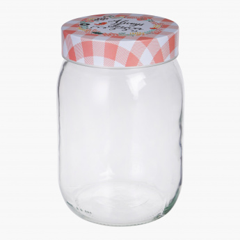 Austin Candy Jar with Lid 1500 ml Containers Jars Storage
