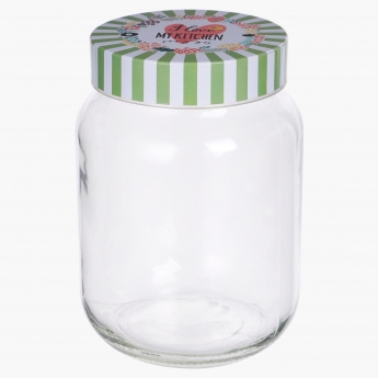 Austin Candy Jar with Lid 1700 ml Containers Jars Storage