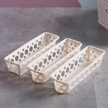 Spectra Rectangular Basket - Set of 3