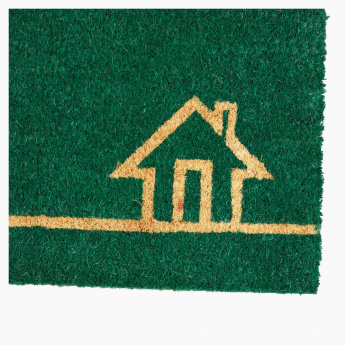 Home Printed Rectangular Door Mat - 40x75 cms