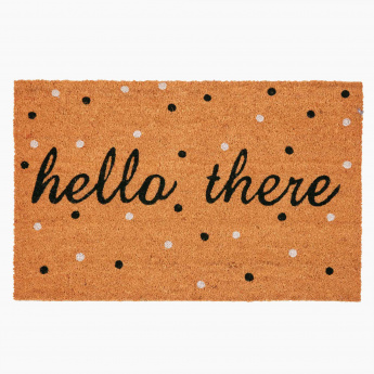 Printed Rectangular Door Mat - 60x90 cms