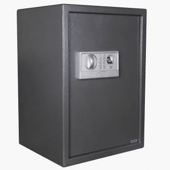 Digital Safe With Fingerprint Reader And Shelf Large