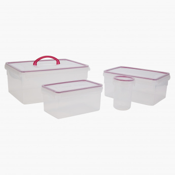 Easy Click And Seal 4 Piece Container Set