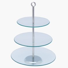Coral 3-Tier Cake Stand