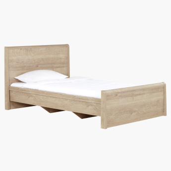 Curvy Twin Bed - 120x200 cms