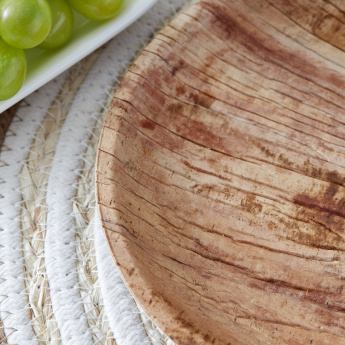 Palm Leaf Round Side Plate - Set of 10