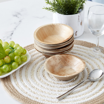 Palm Leaf Soup Bowl - Set of 10