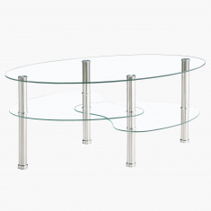 Zeus Oval Coffee Table