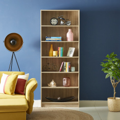 Oslo Avian 6-Tier Bookcase