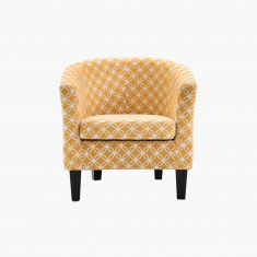 P-Agata Printed Tub Chair