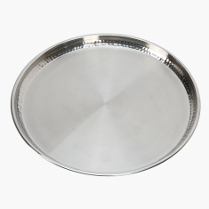Hammered Dinner Plate