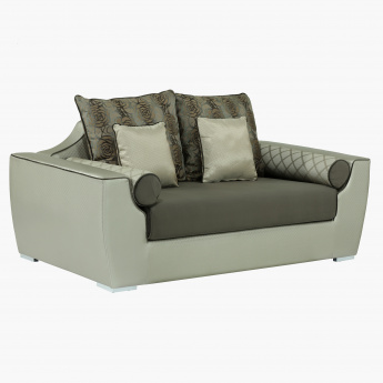 Caree 2-Seaters Sofa with 5 Cushions