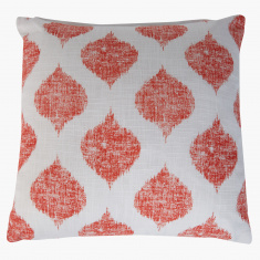 Ikat Printed Cushion Cover - 40x40 cms