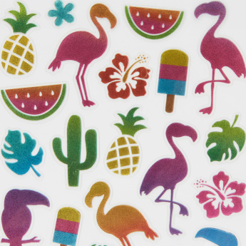 Tropical Foil Stickers