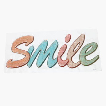 Smile Pop Up Sticker