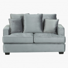 Cindy Customized 2-Seater Sofa with 5 Cushions