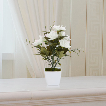 olivia decorative gerbera flower plant with pot | artificial flowers