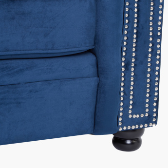 Claymont Studded 1-Seater Sofa