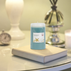Radiance Ocean Breeze Pillar Candle