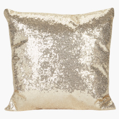 Sparkle Embellished Filled Cushion - 45x45 cms