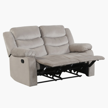 Jacinta 2-Seater Recliner Sofa with Curved Arms