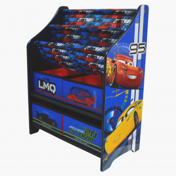 Cars 3 Rack Book and Toy Organizer