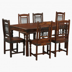 Awadh 7-Piece Dining Table Set