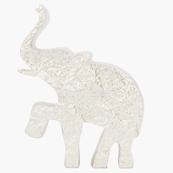 Textured Elephant Showpiece