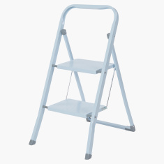 Prima Metallic 2-Step Foldable Ladder