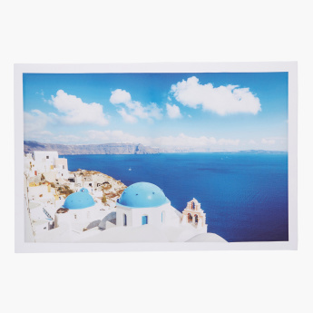 Santorini Framed Picture Wall Hanging