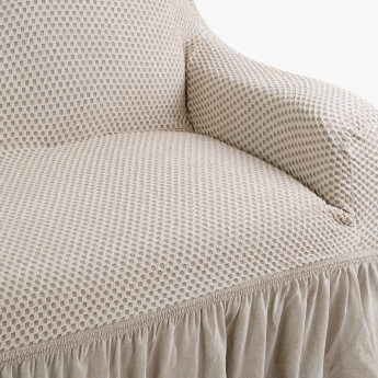 Patterned 3-Seater Sofa Cover