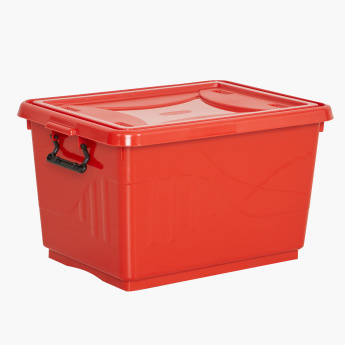 Kevin Melody Textured Storage Box with Lid