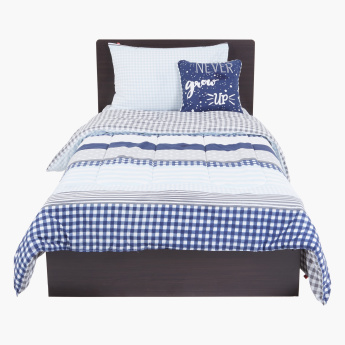 Printed 4-Piece Comforter Set - 220x160 cms