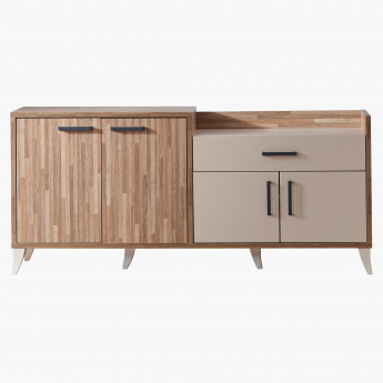 Parkay 1-Drawer 4-Door Side Board