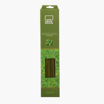 Tranquil Green Tea Incense Stick - Set of 40